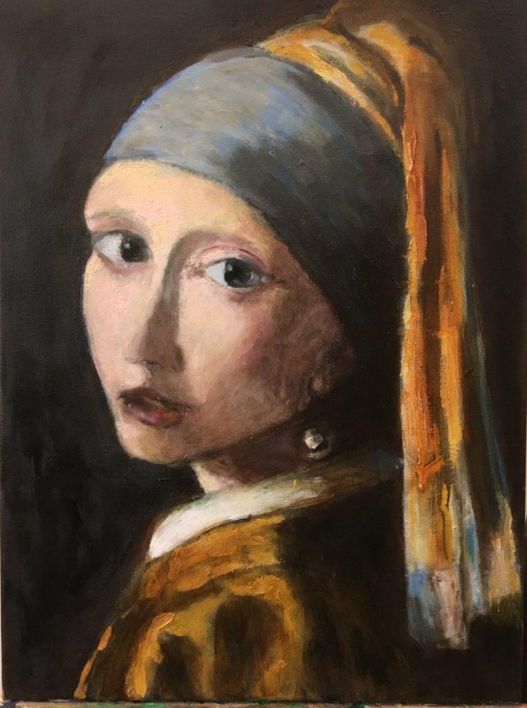 schilderij interpretatie van meisje met de parel vermeer
